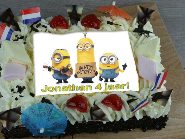 kindertaart slagroom